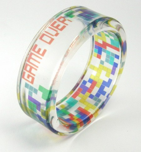 Tetris Bracelet: Game Over