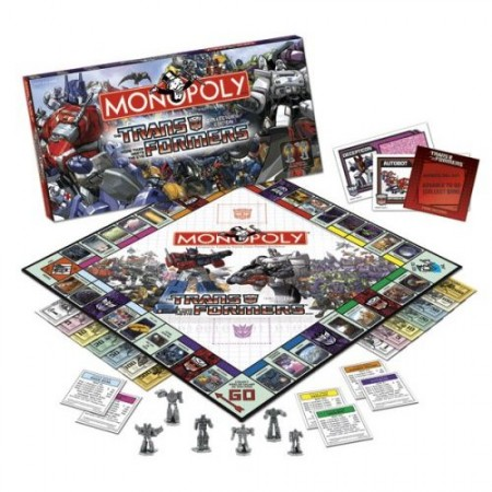 Transformers Monopoly: Classic Board Game in Disguise
