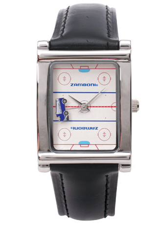 Zamboni Watch Has the Most Exciting Part of Hockey on Your Wrist