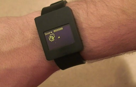 Amazing Homemade Asteroids Watch