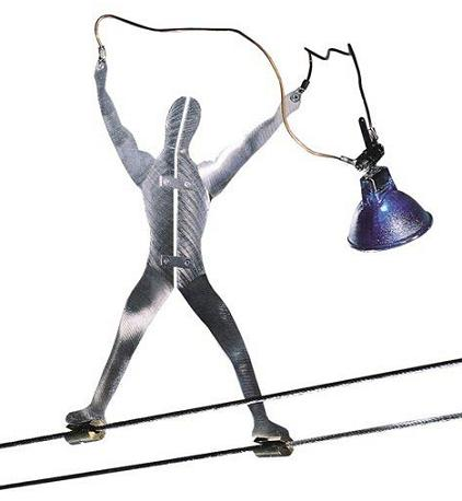 Tech Lighting K-Metal Man Poseable Figure Light