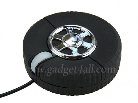 Car Tire Mouse