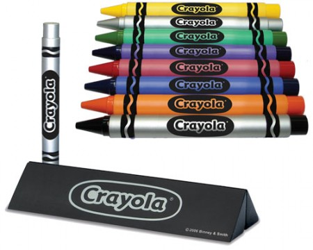 Crayola Crayon Executive Pen is the Pen that Looks Like a Crayon