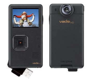 Creative Labs Vado HD 720p Pocket Video Camcorder Now Shipping
