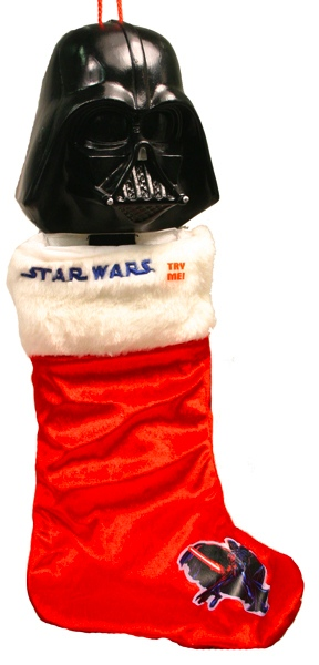 Darth Vader Christmas Stocking with Sound