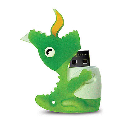 Dinosaur Flash Drives...aaaahhh