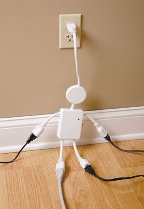 electroman Electroman Surge Protector is Shockingly Cool