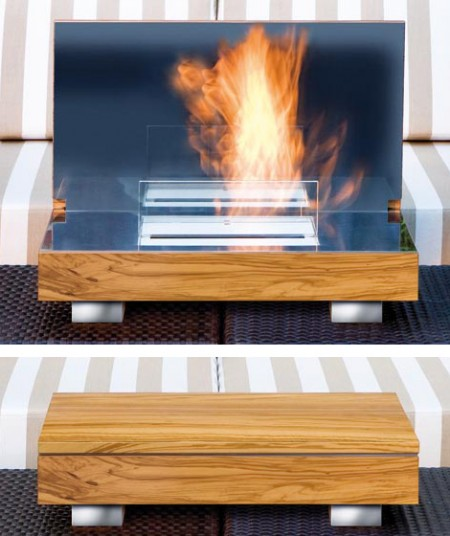 Fireplace in a Fold Up Box