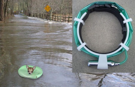 Floating Pet Collar for Emergencies
