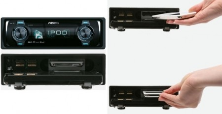 Fusion CA-IP500 Head Unit Swallows Your 'Pod