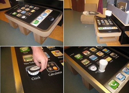 iPhone Coffee Table is the Ultimate iPhone Fanboy Furniture