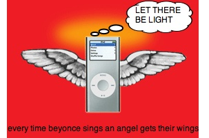 ipod angel Pinboard