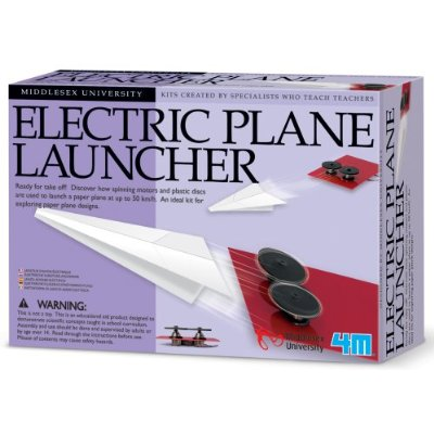Electric Paper Airplane Launcher for Lazy Kids