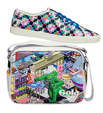 Colorful Gola eBoy Pixel Sneakers