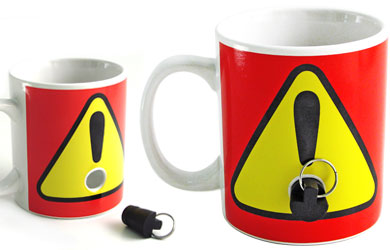 The Plug Mug Keeps Your Mug Safe from Coworkers