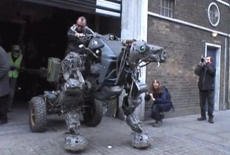 Insane Walking Robot Dog Motorcycle Thing