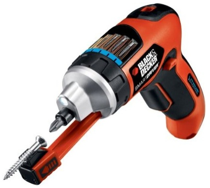 screwdriver with screw holder $4000 Electric Screwdriver Holds Your Screws