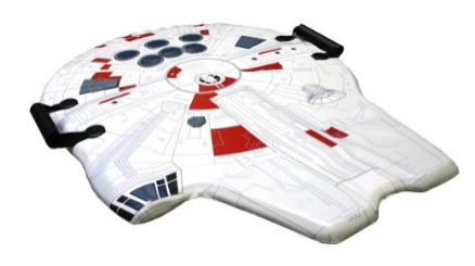 Coolest Sled Ever: Star Wars Millenium Falcon Sled
