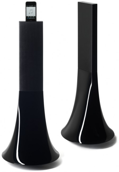 Phillipe Starck Designed Speakers and iPod Dock