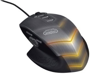 SteelSeries Special Edition World of Warcraft Mouse has 16 Million Illumination Combinations
