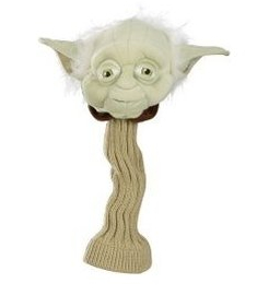 yoda golf head Star Wars Golf Head Covers: May the Fore! be with You
