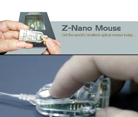 znano mouse Z Nano is the Worlds Smallest Mouse