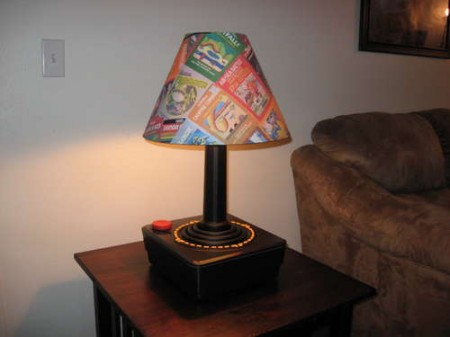 Giant Atari 2600 Joystick Lamp