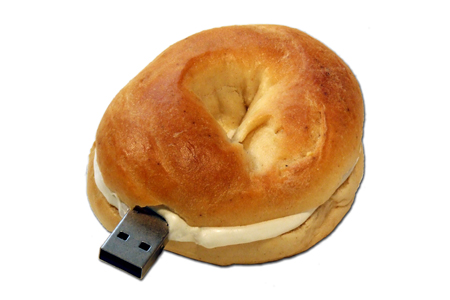 Oy Vey: It's a Bagel Shaped USB Flash Drive (and we're giving one away!)