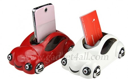 VW Bug USB Hub and Gadget Holder