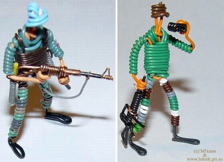 Ethernet Cable Action Figures