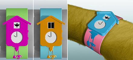 Cuckoo Clock Watch
