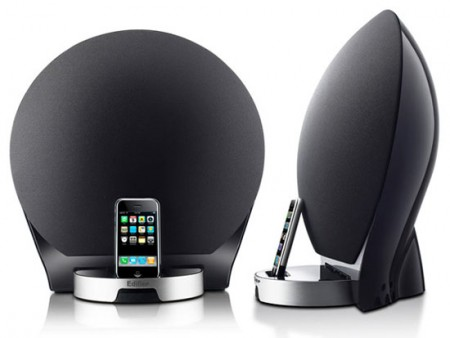 Edifier IF500 is a Bulbous iPod Dock