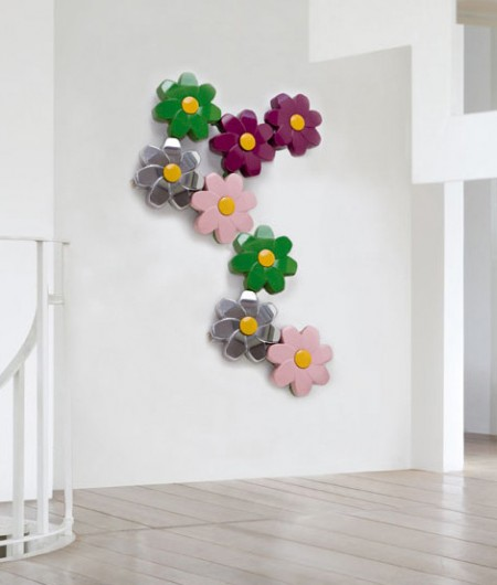 Flower Shaped LED Lit Modular Radiators