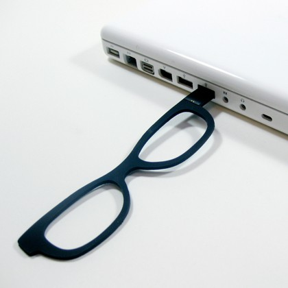 Four Eyes is a USB Flash Drive Glasses Bookmark
