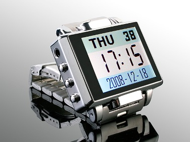 Ultimate Geek Watch has Video Camera, 1.8in Screen, Plays MP3s