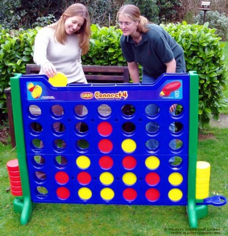 Giant Sized Connect Four Game