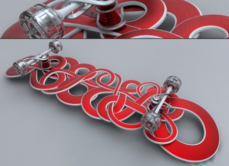 Wildstyle Graffiti Inspired Skateboards