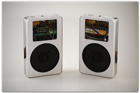 Old iPods Turned into Speakers…for iPods