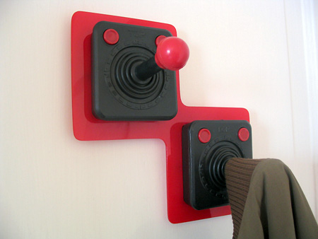 joystick coat hook2 Joystick Coat Hooks