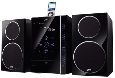 JVC's Touchscreen iPod Friendly Boombox