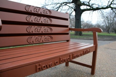 Kit Kat Bench Looks Good Enough to Eat