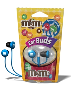 M&M Earbuds from Maxell