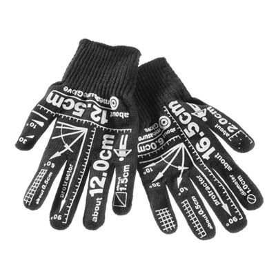 Measurement Gloves Look Hand-y