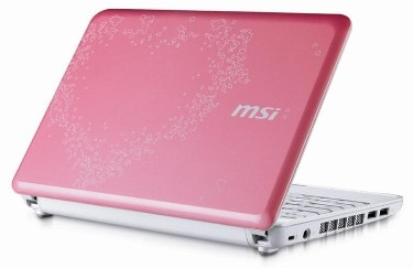 Netbooks Get Romantic with the MSI Wind U100 Valentine Edition