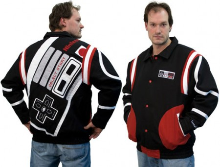 NES Controller Jacket Would Make a Great Replacement for your Eight Ball Jacket