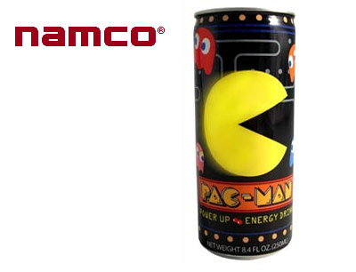 Wash Down those Power Pellets with a Pac-Man Energy Drink
