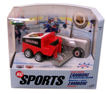 Clear the Ice with a Radio Controlled Zamboni