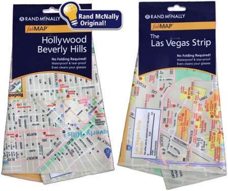 Rand McNally Lens Cleaning Cloth Maps