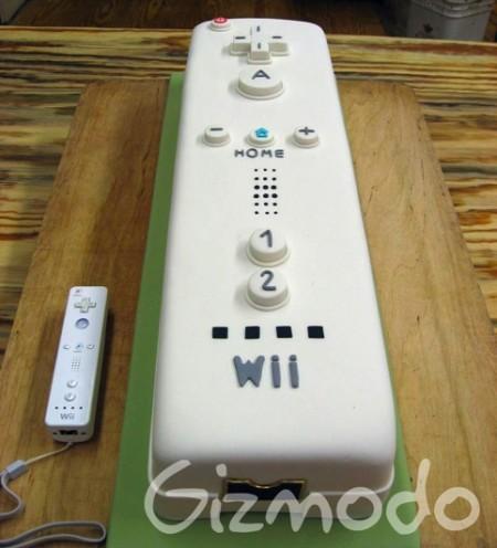 Giant Wiimote Cake