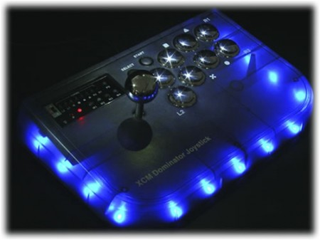 XCM Dominator Joystick Lights Up, Dominates